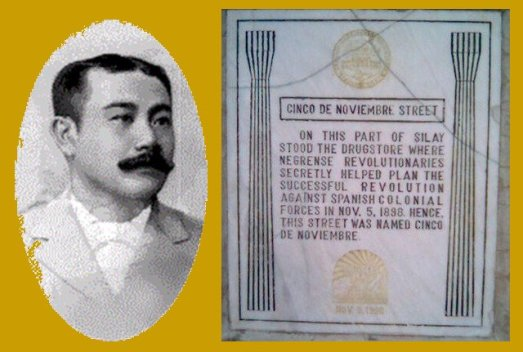 aniceto lacson and the marker silay