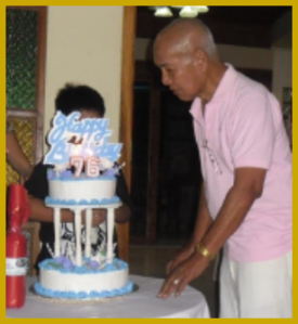 Judge Fred Hilario Celebrating 76th Birthday