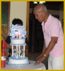 Judge Fred Hilario Celebrating 76th Birthday