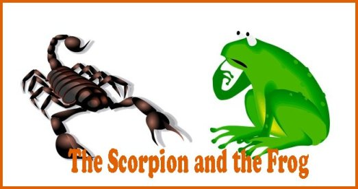 The Scorpion and the Forg with title